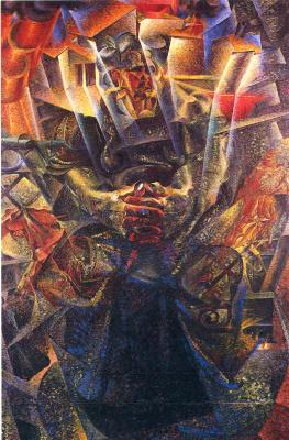 Umberto Boccioni. Plot 37