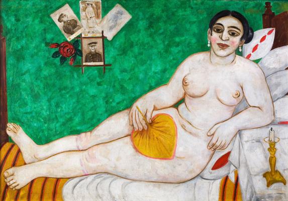 Mikhail Larionov. Jewish Venus