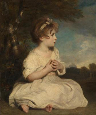 Joshua Reynolds. The Age of Innocence