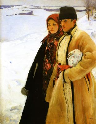Александр Александрович Мурашко. Зима