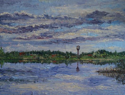 Irina Viktorovna Korotoyakskaya (Dronova). Etude fishing