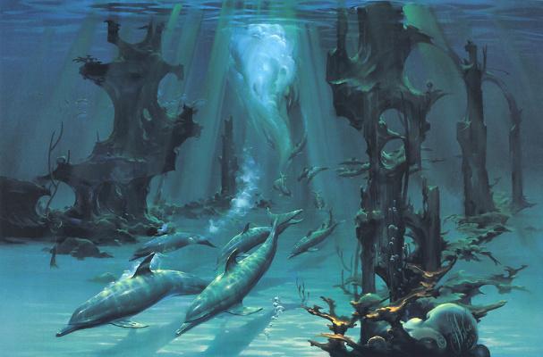 John Pitre. Dolphins Of Atlantis