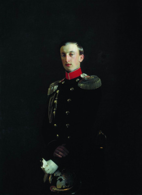 Sergey Konstantinovich Zaryanka. Portrait of Grand Duke Nikolai Nikolaevich the Elder (1831-1893)