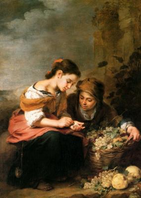 Bartolomé Esteban Murillo. Fruit basket