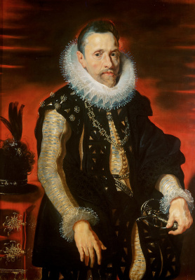 Peter Paul Rubens. Portrait of Archduke Albrecht VII Regent of Flanders