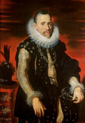 Peter Paul Rubens. Portrait of Archduke Albrecht VII Regent of Flanders