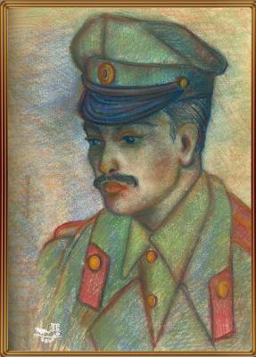 Vladimir Pavlovich Parkin. Lieutenant of infantry Alexander Kudashev.