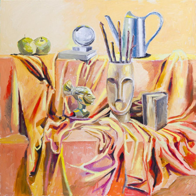 Евгений Морозов. Still life with faces