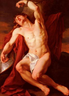 Франсуа Гийом Менагеот. Мученичество Святого Себастьяна