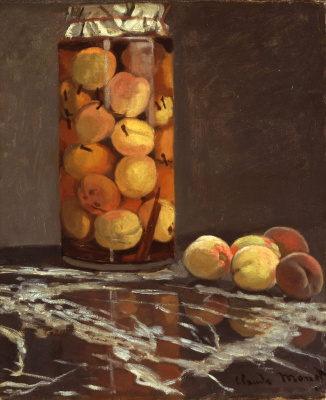 Claude Monet. Jar of Peaches