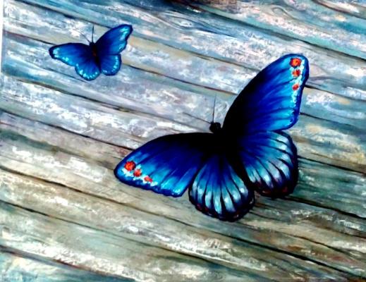 Ekaterina Evgenievna Barkhatova. Butterflies