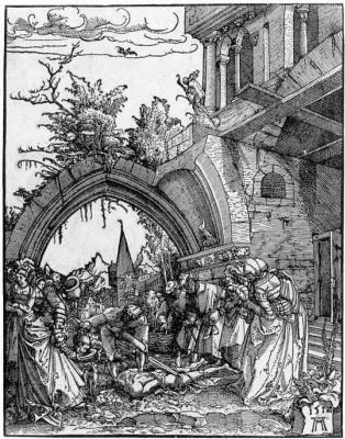 Albrecht Altdorfer. The beheading of St. John the Baptist