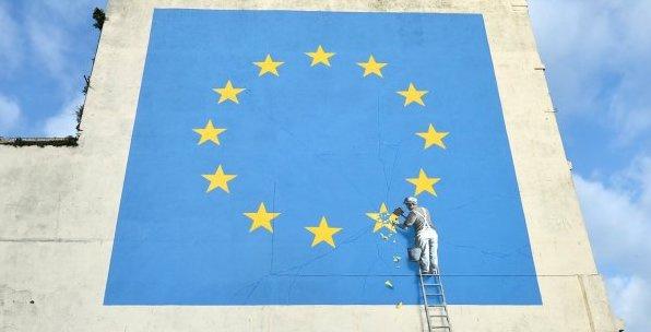 Banksy. Brexit