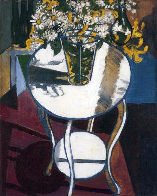 Алиса Нил. Букет на столе