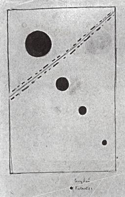 Kazimir Malevich. Blue space