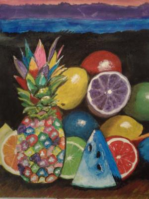 Глория. Веселые фрукты