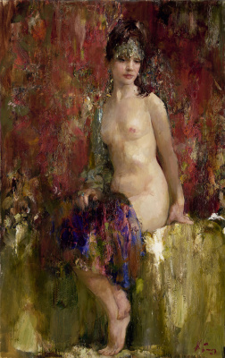 Nikolay Dmitrievich Blokhin. Beautiful Nude