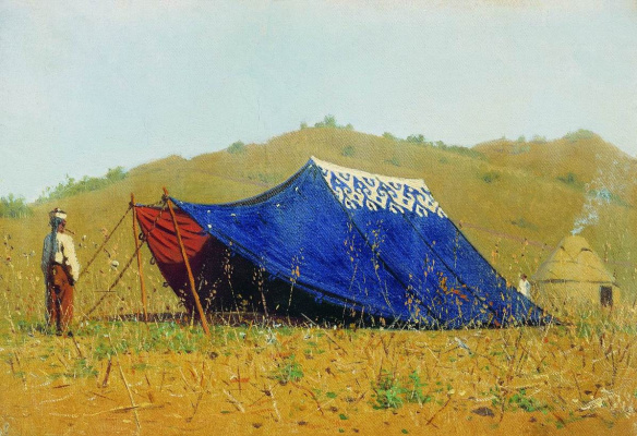 Vasily Vereshchagin. The Chinese tent