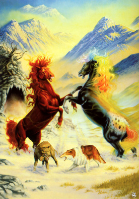 Мистические кони