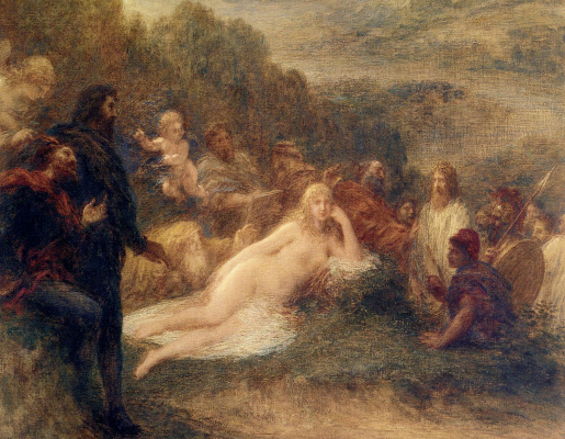 Henri Fantin-Latour. Elena. Fragment