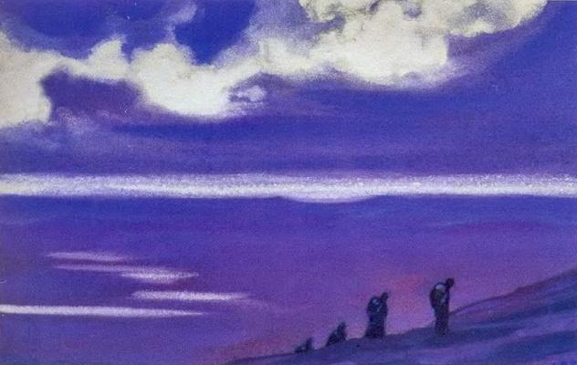 Svyatoslav Nikolaevich Roerich. The pilgrims