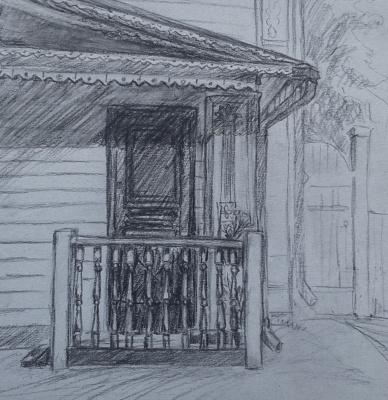 Zina Vladimirovna Parisva. Porch
