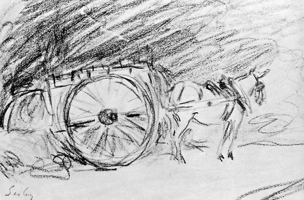 Alfred Sisley. Wagon