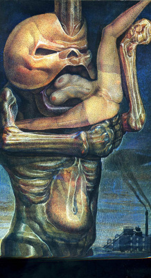 Ernst Fuchs. Devourer of puppets