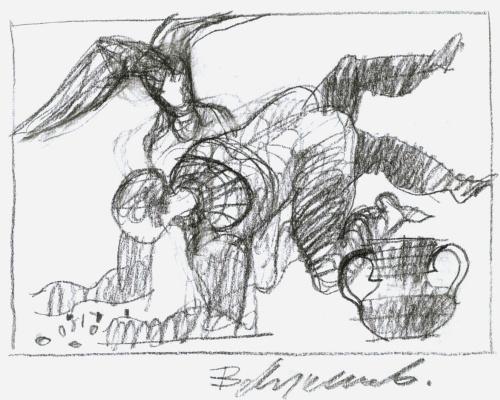 Владимир Сергеевич Лукьянов. Из цикла «Метаморфозы» (03)