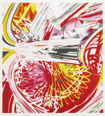 James Rosenquist. Fire fountain