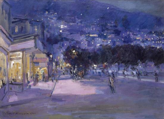 Konstantin Korovin. View of Monaco