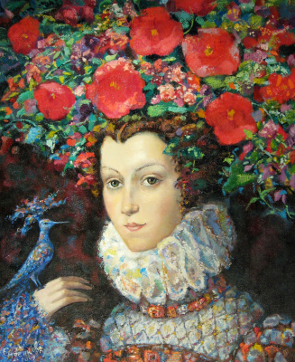 Natalya Savenkova. Blue bird