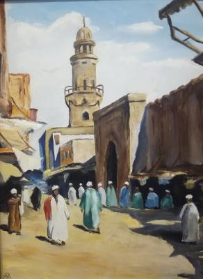 Artem Vladimirovich Kozlov. Bazaar in Turkey