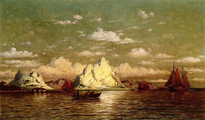 Уильям Брэдфорд. Арктическая гавань