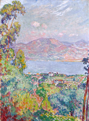 Henri Lebasque. View of the Gulf of Saint-Tropez