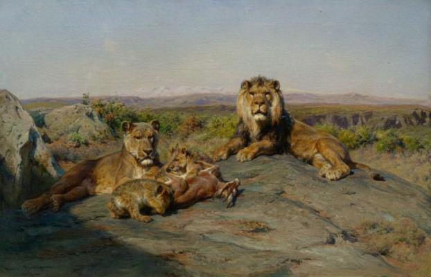 Rose Bonhur. Lions