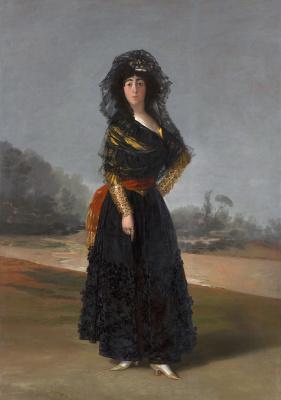 Portrait of Duchess Alba