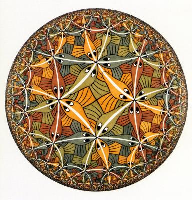 Maurits Cornelis Escher. Circle Limit III