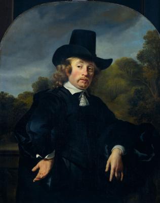 Фердинанд Балтасарс Боль. Портрет Рольфа Мулинера, почтмейстера Антверпена