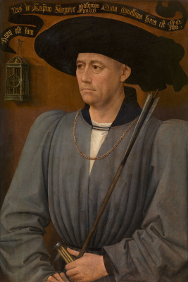 Rogier van der Weyden. Portrait of judge tournaments