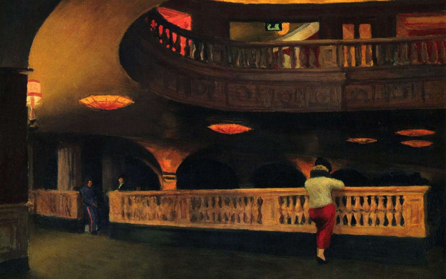 Edward Hopper. Theatre Sheridan