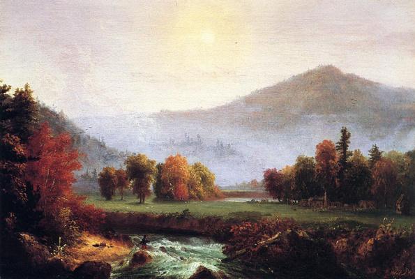 Thomas Cole. Morning mist