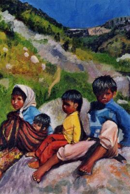 Картины художника руис боррего