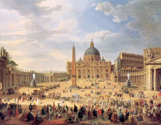 Giovanni Paolo Pannini. Area