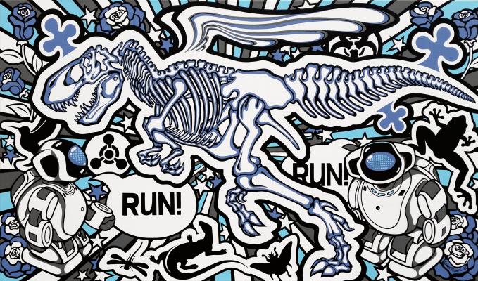 """Oxana Prantl. """"Run Run"""""""