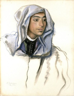 Zinaida Serebryakova. Student-Moroccan from FEZ