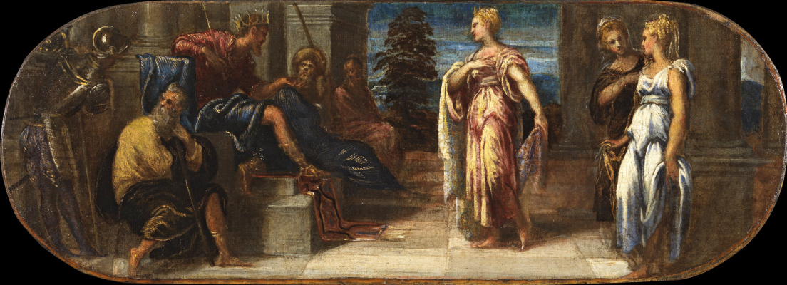 Jacopo (Robusti) Tintoretto. Solomon and the Queen of Sheba