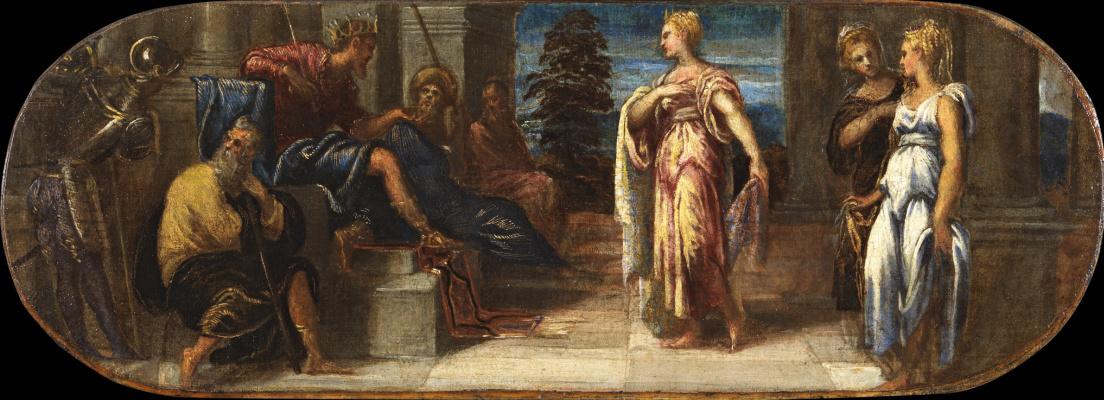 Jacopo (Robusti) Tintoretto. Solomon and the Queen of Sheba
