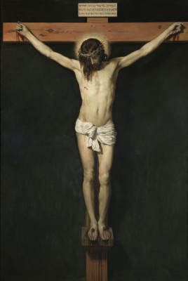 Diego Velazquez. The Crucifixion Of Christ