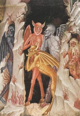 Андреа Бонаиути Да Фиренз. Сошествие Христа